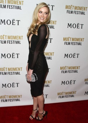 Greer Grammer: Moet And Chandon Celebrates 25 Years At The Golden Globes -09