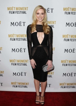 Greer Grammer: Moet And Chandon Celebrates 25 Years At The Golden Globes -16