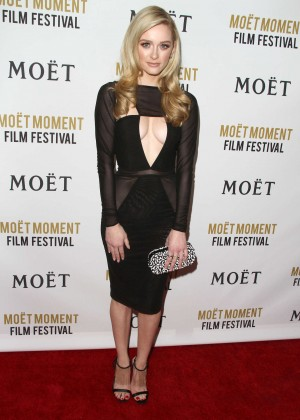 Greer Grammer: Moet And Chandon Celebrates 25 Years At The Golden Globes -19