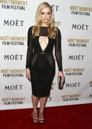 Greer Grammer: Moet And Chandon Celebrates 25 Years At The Golden Globes -22