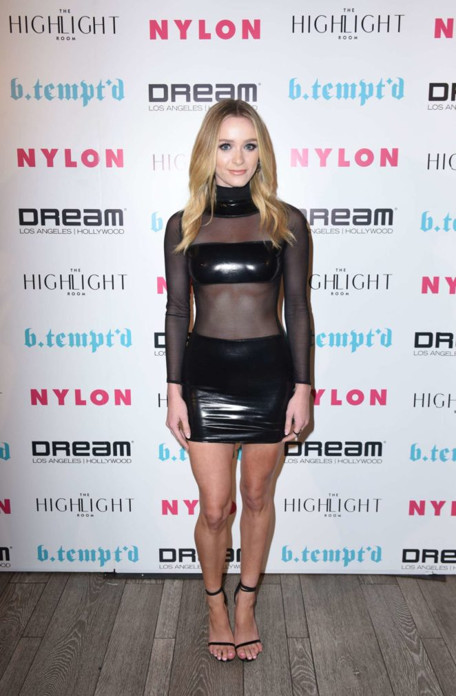 Greer Grammer - NYLON's It Girl Party at The Highlight Room in Hollywood
