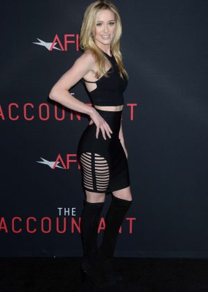 Greer Grammer - 'The Accountant' Premiere in Los Angeles