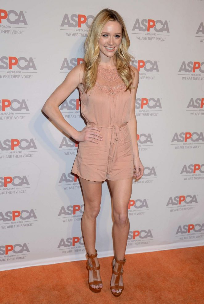 Greer Grammer - The ASPCA'S Benefit Gala in Los Angeles