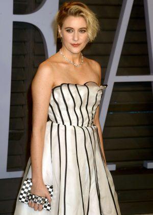 Greta Gerwig - 2018 Vanity Fair Oscar Party in Hollywood