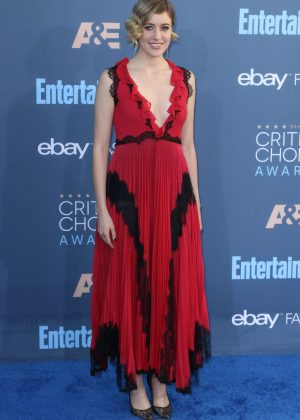 Greta Gerwig - 22nd Annual Critics' Choice Awards in Los Angeles