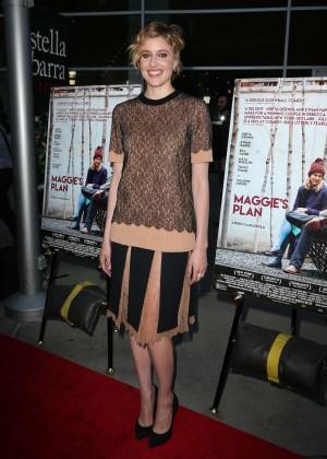 Greta Gerwig - 'Maggie's Plan' Special Presentation in Los Angeles