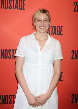 Greta Gerwig - Mary Page Marlowe Off-Broadway Opening Night Arrivals in NYC
