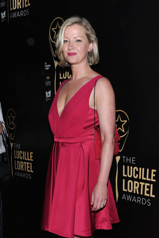 Gretchen Mol – 30th Annual Lucille Lortel Awards in NYC