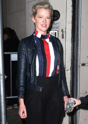 Gretchen Mol at Today Show in New York