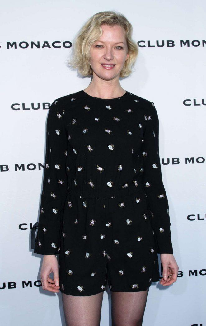 Gretchen Mol - Club Monaco Fashion Presentation at 2017 NYFW in NYC