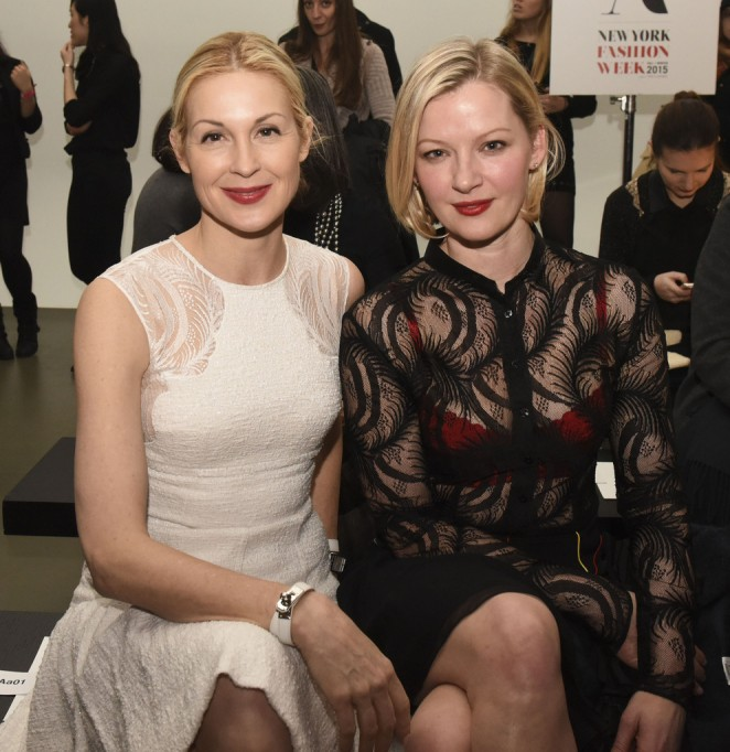 Gretchen Mol & Kelly Rutherford - Sophie Theallet Fashion Show 2015 in NYC