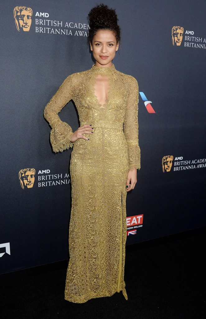 Gugu Mbatha-Raw - 2016 AMD British Academy Britannia Awards in Beverly Hills