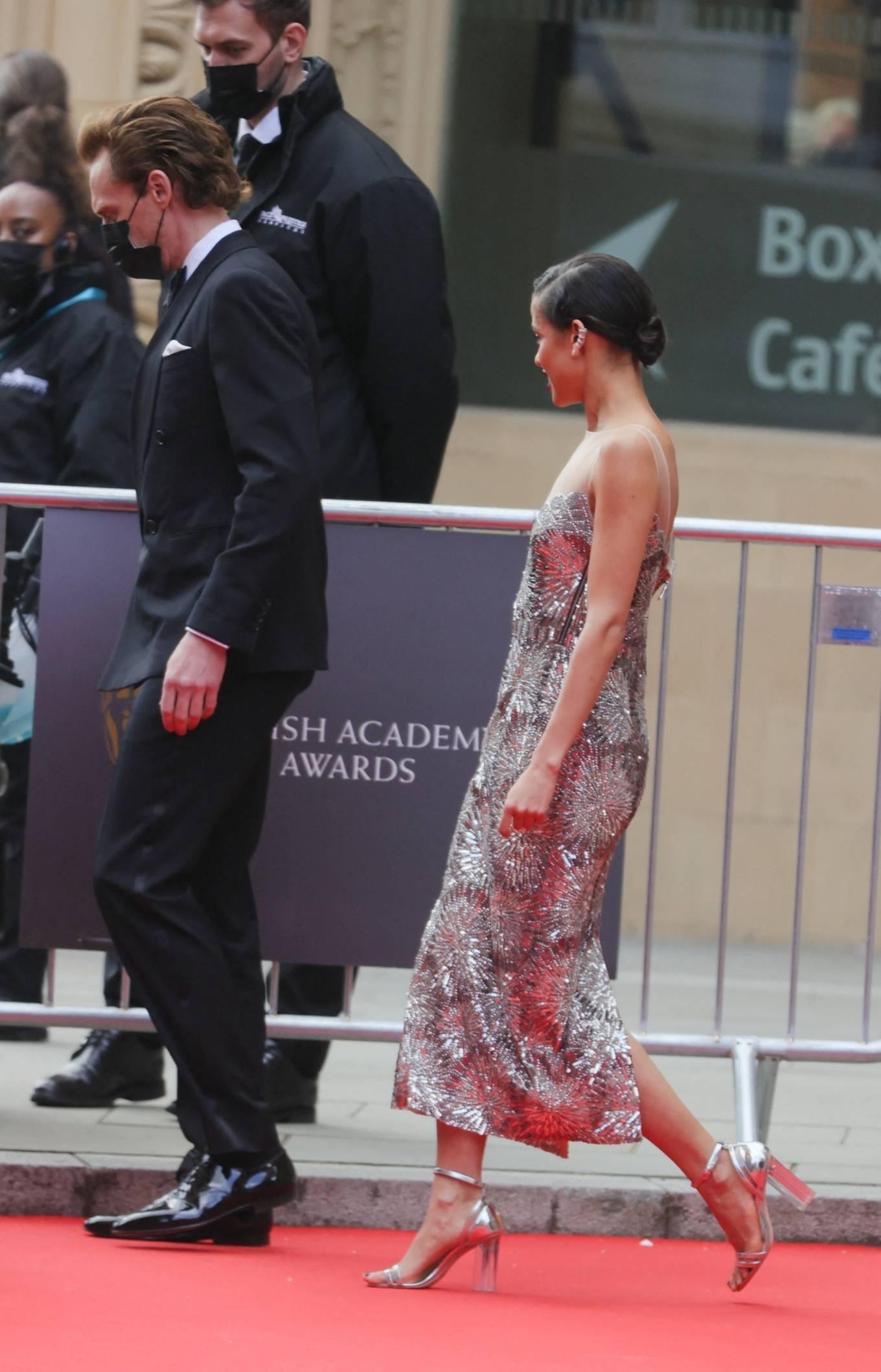 Gugu Mbath 2021 : Gugu Mbatha-Raw – at the Royal Albert Hall for 2021 British Academy Film Awards in London-23