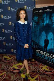 Gugu Mbatha-Raw - BAFTA 'Motherless Brooklyn' Screening in New York