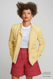 Gugu Mbatha-Raw - Harper's Bazaar UK Magazine (April 2020)