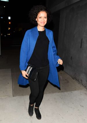 Gugu Mbatha-Raw - Leaving The DUNDAS Traveling Flagship Cocktail Party in LA