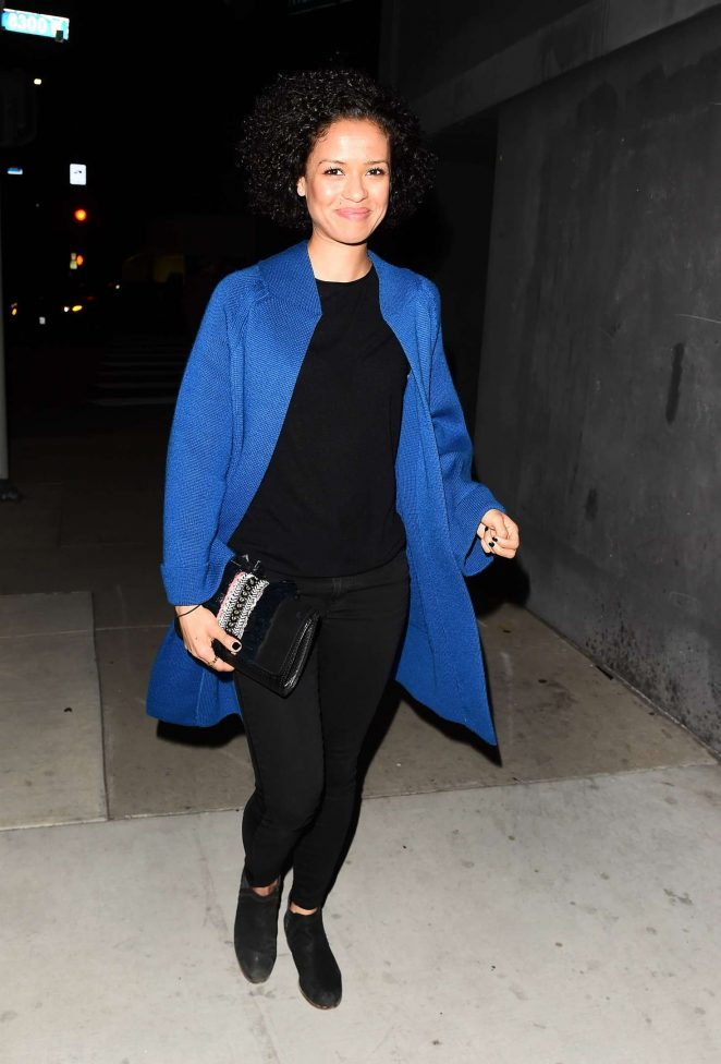 Gugu Mbatha-Raw – Leaving The DUNDAS Traveling Flagship Cocktail Party in LA