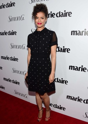 Gugu Mbatha Raw Marie Claire Hosts Fresh Faces Party Celebrating Issue Cover Stars 08 Hunter Haley King Personal Pics