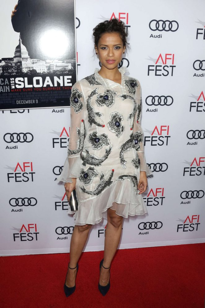 Gugu Mbatha-Raw - 'Miss Sloane' Premiere at AFI Fest 2016 in Los Angeles