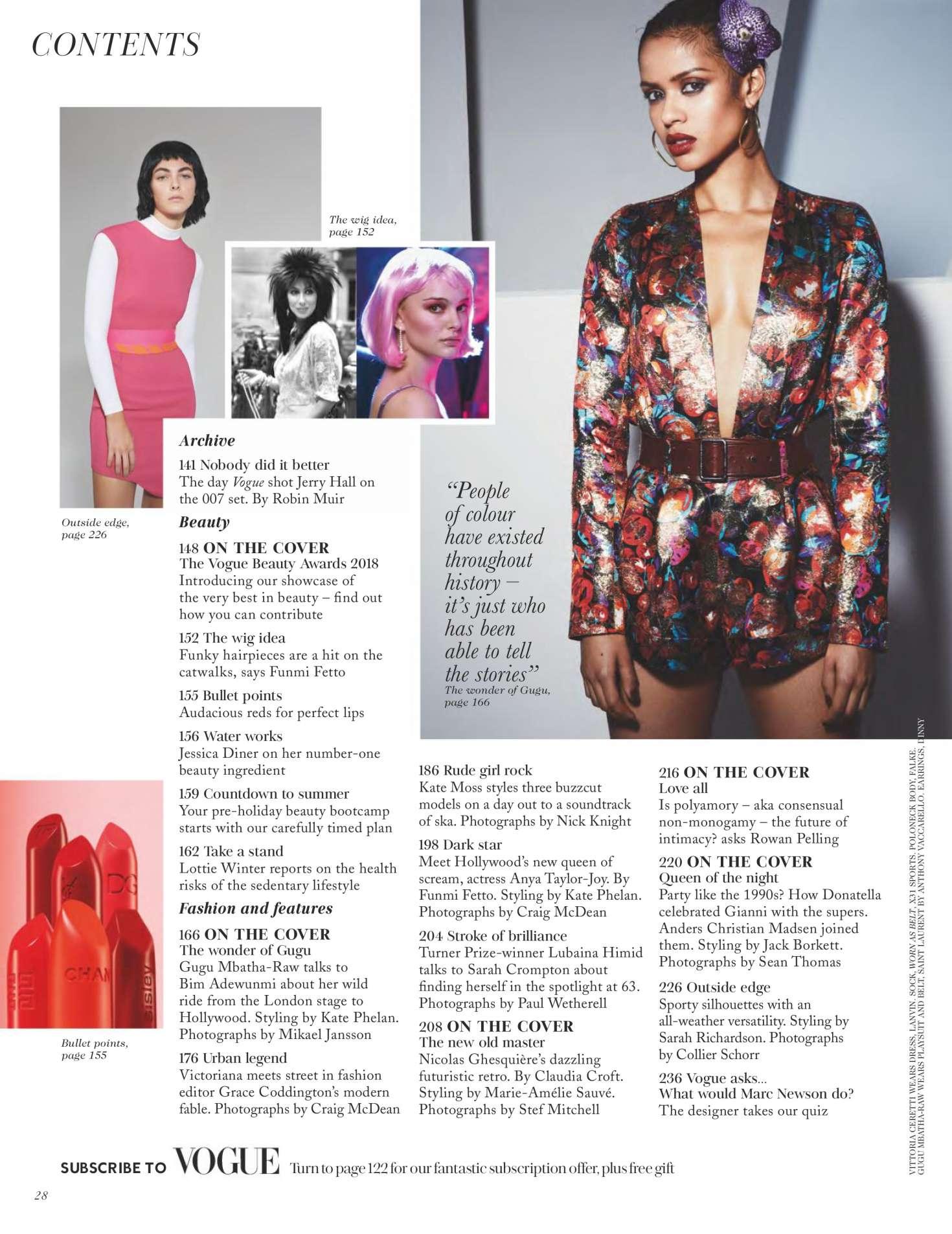 Open Vogue Magazine