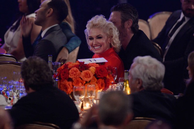 Gwen Stefani: 2016 Pre Grammy Gala and Salute -01