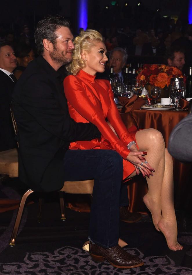 Gwen Stefani: 2016 Pre Grammy Gala and Salute -04
