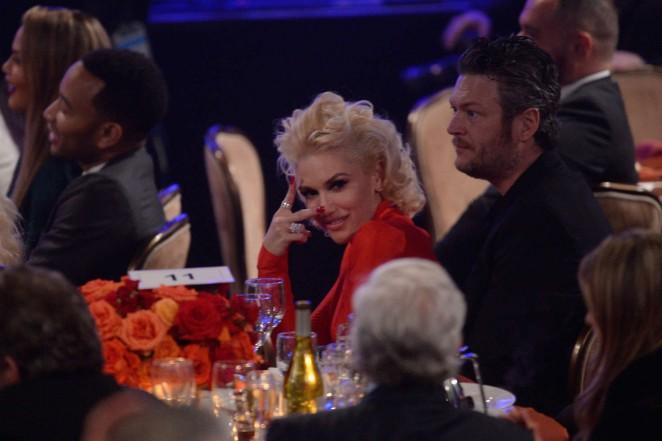 Gwen Stefani: 2016 Pre Grammy Gala and Salute -12