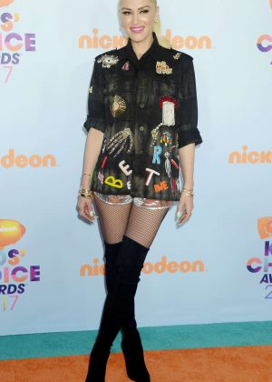 Gwen Stefani - 2017 Nickelodeon Kids' Choice Awards in LA