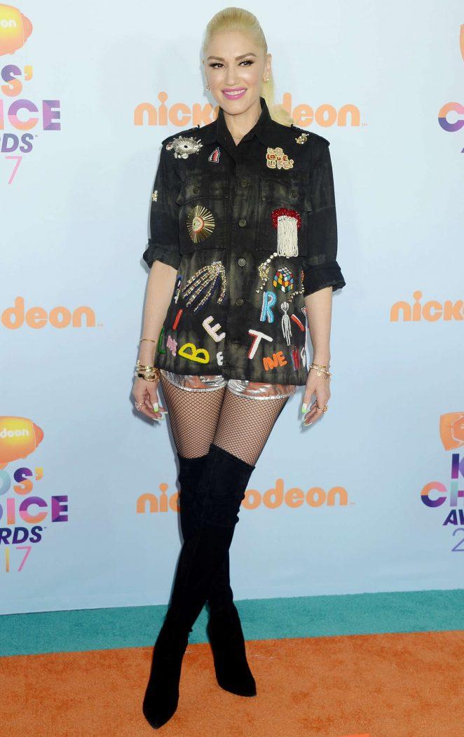 Gwen Stefani – 2017 Nickelodeon Kids' Choice Awards in LA