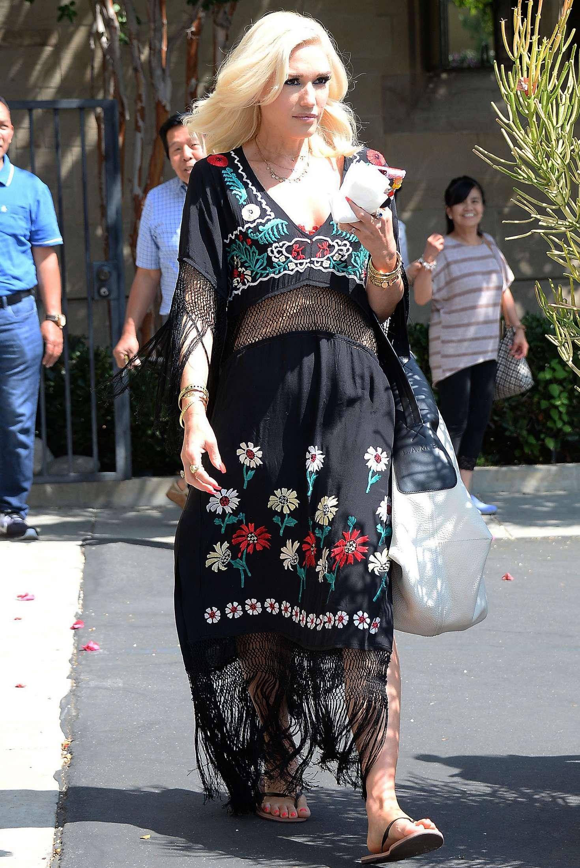 Gwen Stefani at Church in LA