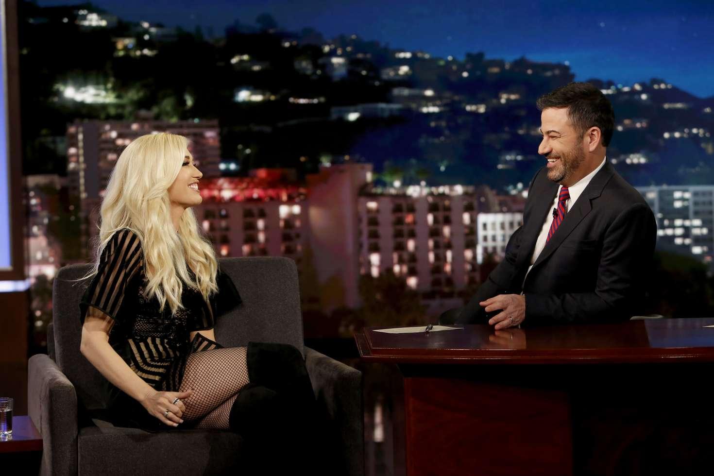 Gwen Stefani 2018 : Gwen Stefani at Jimmy Kimmel Live -02