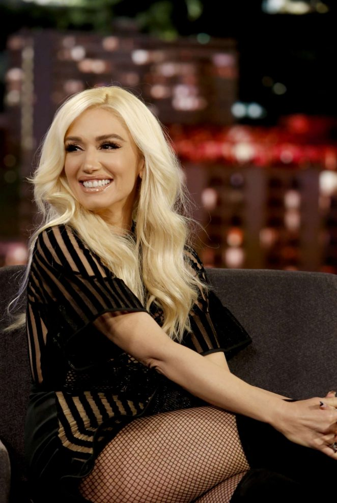 Gwen Stefani at Jimmy Kimmel Live! in Los Angeles