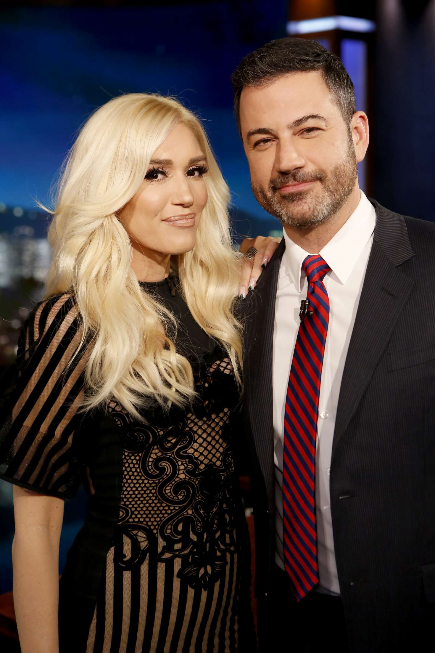 Gwen Stefani 2018 : Gwen Stefani at Jimmy Kimmel Live -05