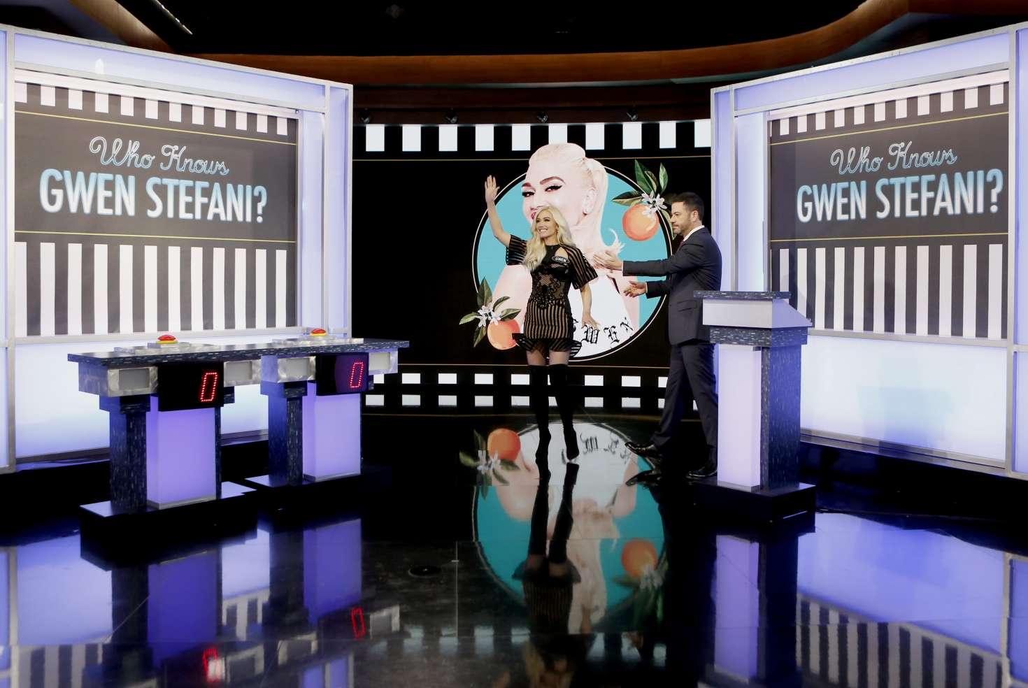 Gwen Stefani 2018 : Gwen Stefani at Jimmy Kimmel Live -06