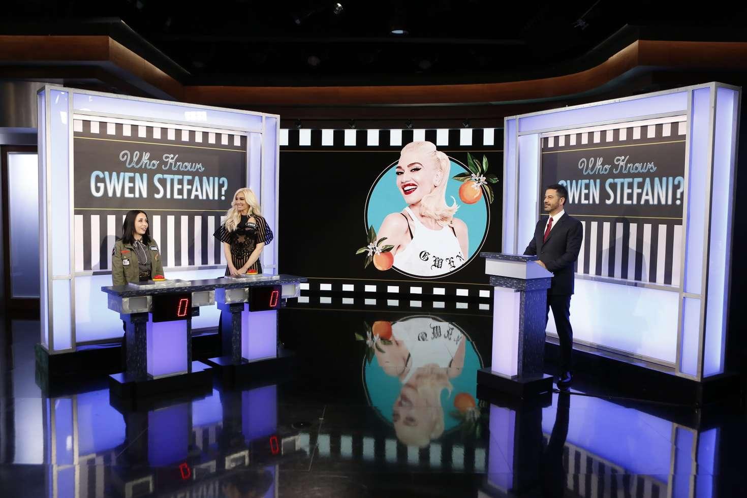 Gwen Stefani 2018 : Gwen Stefani at Jimmy Kimmel Live -07