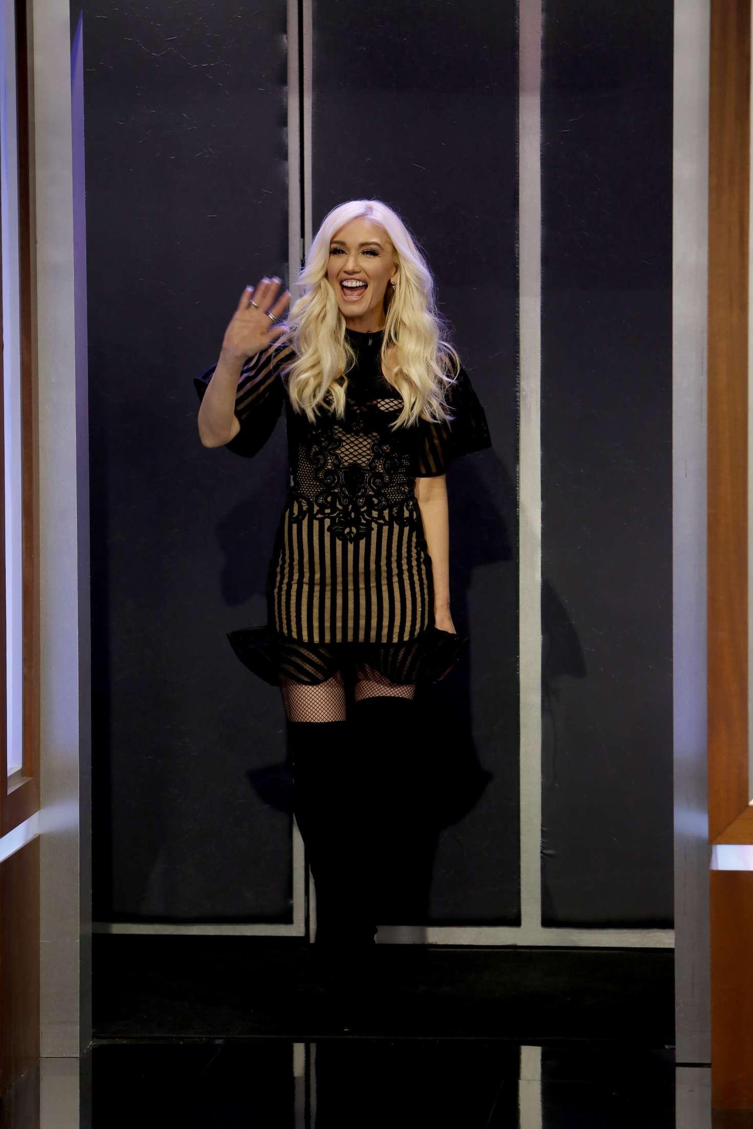 Gwen Stefani 2018 : Gwen Stefani at Jimmy Kimmel Live -08