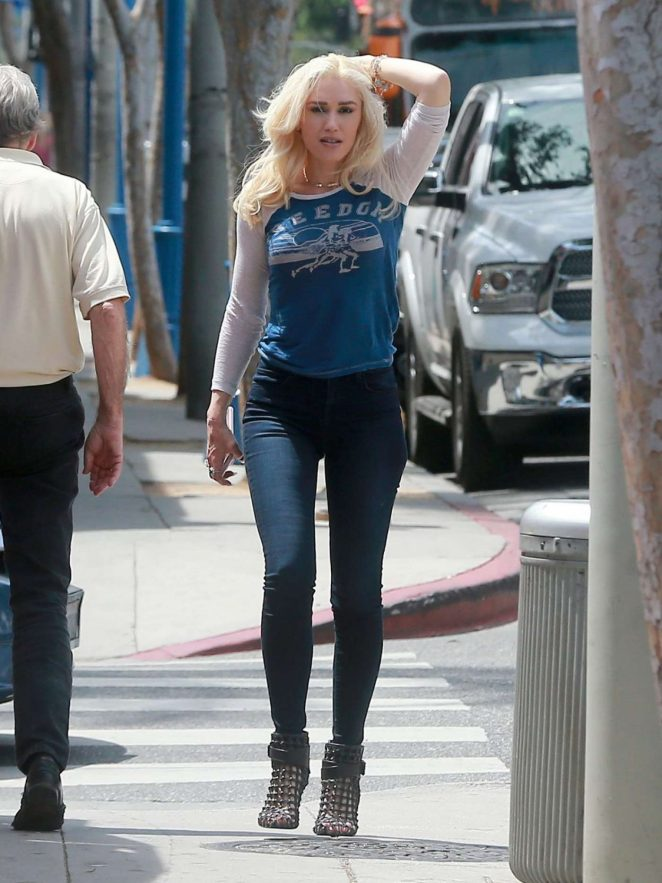 Gwen Stefani at Marco's in West Hollywood
