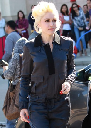 Gwen Stefani - Attending Church services in Los Angeles