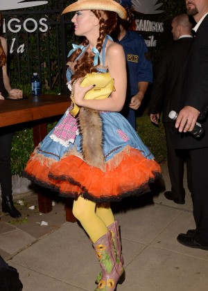 Gwen Stefani - Casa Tequila Halloween Party in Beverly Hills