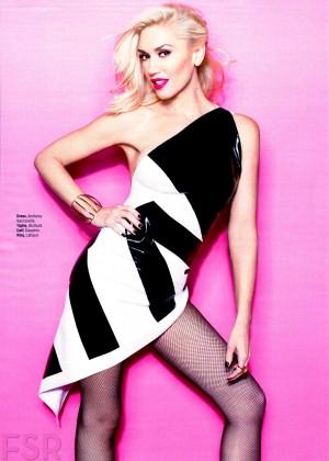Gwen Stefani - Cosmopolitan Magazine (March 2015)