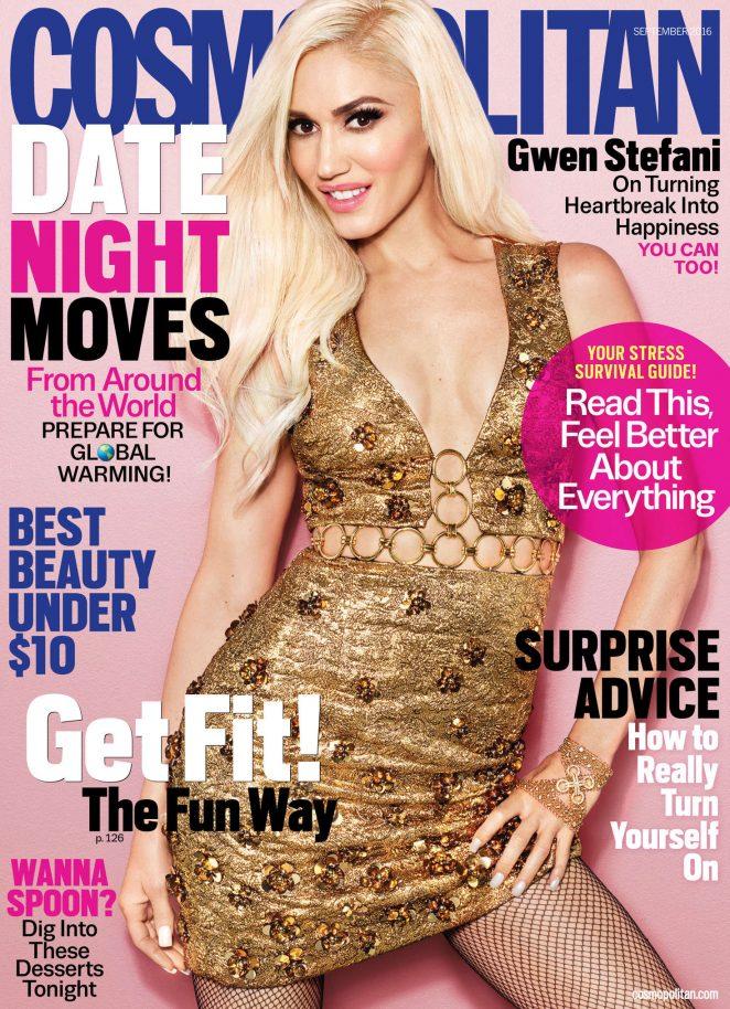 Gwen Stefani - Cosmopolitan Magazine (September 2016)