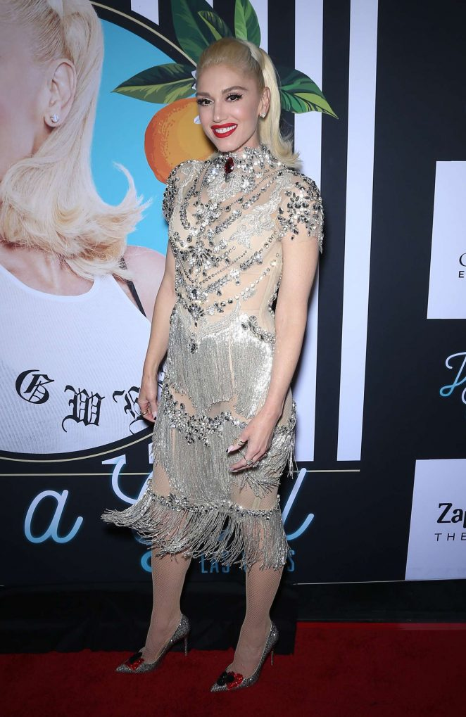 Gwen Stefani - 'Gwen Stefani: Just A Girl' Red Carpet in Las Vegas