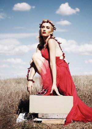 Gwen Stefani - Instyle Magazine (December 2015)