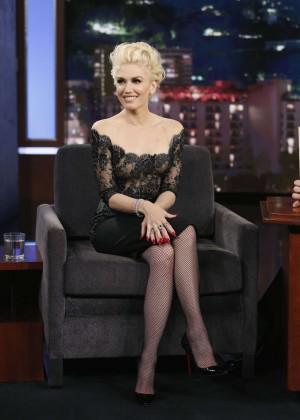 Gwen Stefani - 'Jimmy Kimmel Live' in LA
