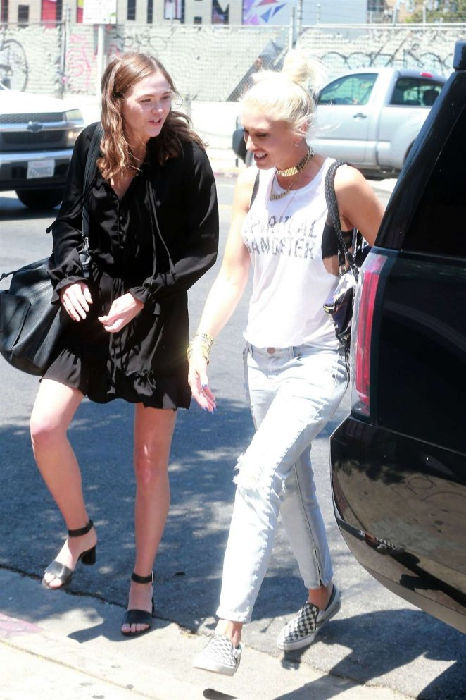 Gwen Stefani: Leaving the Museum Of Ice Cream -14