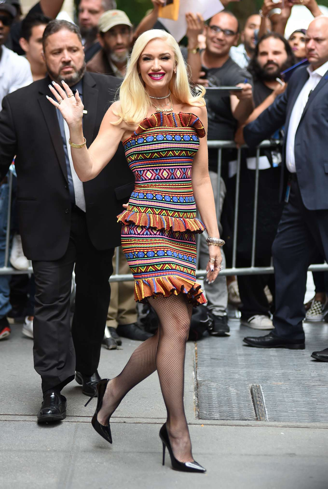 Gwen Stefani - Leaving 'The View' in New York City