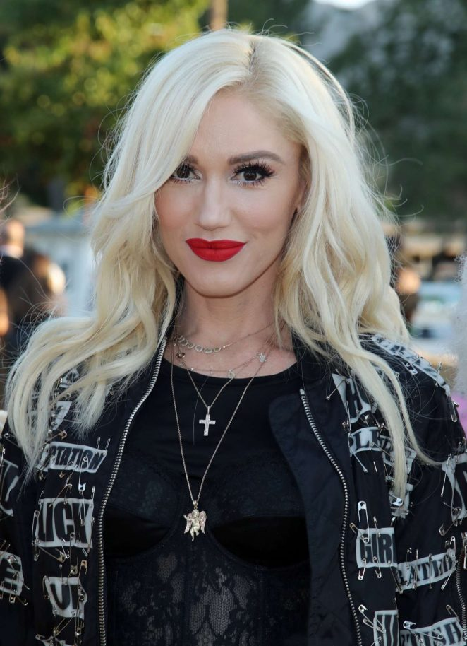 Gwen Stefani - Moschino Show SS 2019 Menswear and Women's Resort Collection in LA