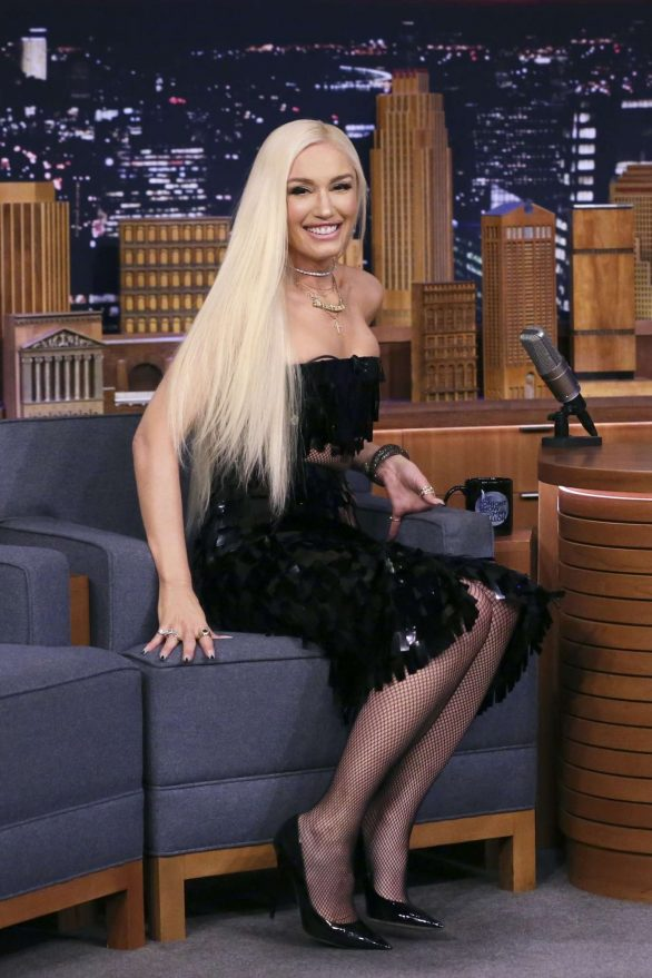 Gwen Stefani - On 'The Late Show with Jimmy Fallon' in NYC