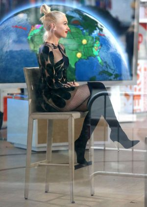 Gwen Stefani on 'Today Show' in New York City