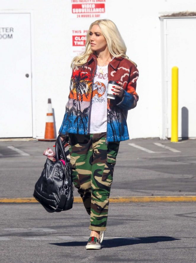 Gwen Stefani - Out and about in LA